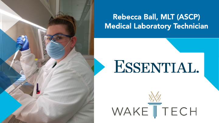 Rebecca Ball, MLT (ASCP) - Medical Laboratory Technician - Essential