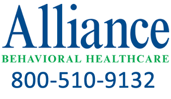 Alliance Behavioral Healthcare 800-510-9132