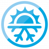 Air Conditioning, Heating, and Refrigeration Technology Icon